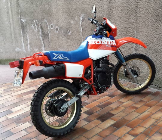 1984 HONDA XL 600 PARIS DAKAR