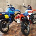Yamaha Tenerè e Honda Paris Dakar